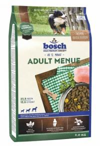 Корм Bosch Adult Menue, для собак меню овощи и мясо