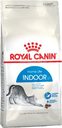 Корм Royal Canin Indoor, для кошек от 1 до 7 лет, живущих в помещении