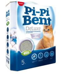 Наполнитель для кошачьего туалета Pi-Pi Bent DeLuxe Clean cotton