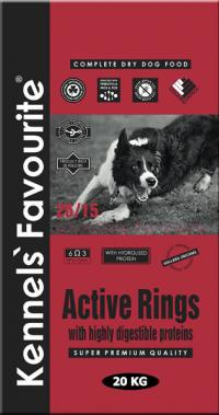 Корм для собак Kennels` Favourite Active Rings - купить в Тамбове