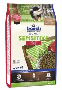 Корм Bosch Sensetive Lamm and Rice, для собак склонных к аллергии